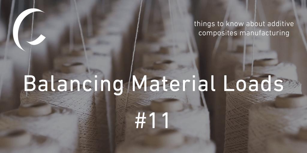 Balancing material loads