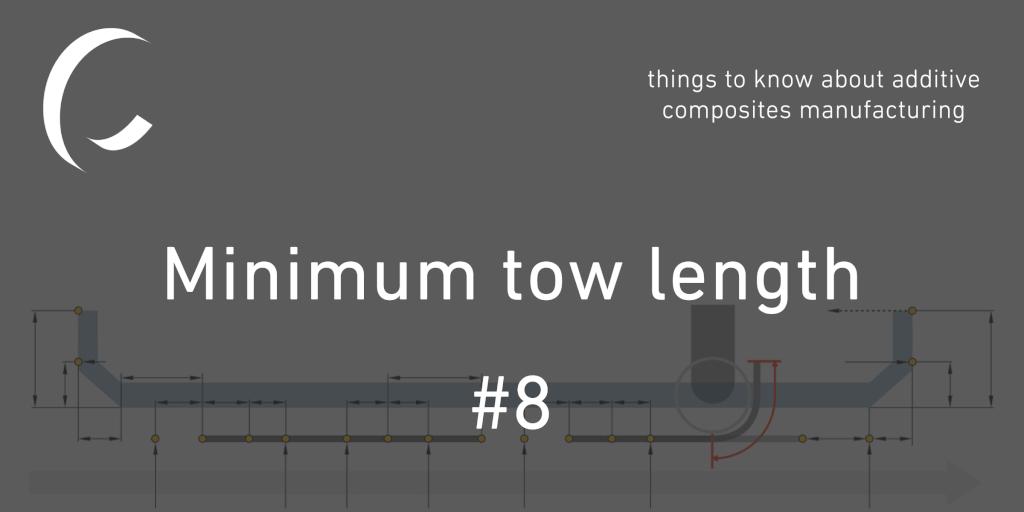 Achieving minimum tow length