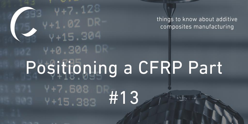 Positioning a CFRP Part