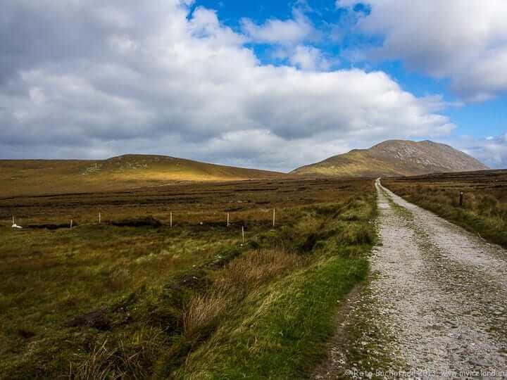 Wandern in Irland. Hier auf Achill Island.
