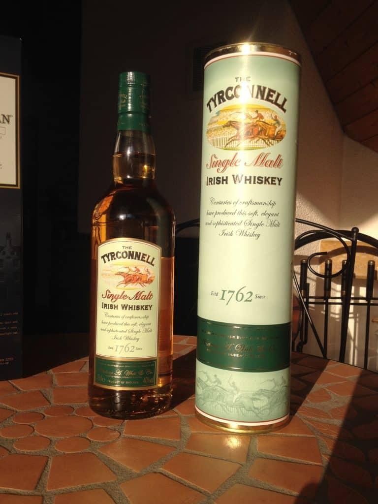 Der Tyrconnell ist ein irischer Single Malt. Ein leckerer Tropfen Whiskey!