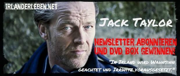 Irland Newsletter - jetzt Anmelden und DVD-Box von Jack Taylor gewinnen