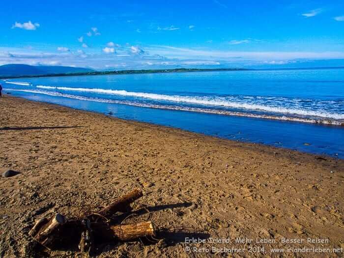 Impressionen vom Beach bei Strandhill. Sehenswürdigkeit Irland