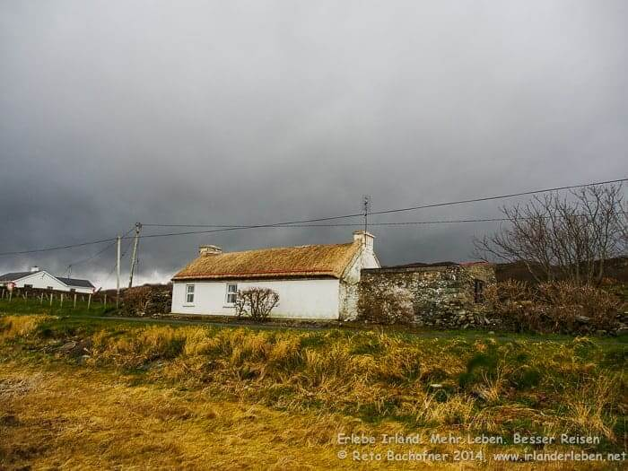 Ein irisches Cottage mieten: Cloverfield Cottage auf der Inishowen Peninsula im County Donegal. Ein typisch, irisches Cottage.