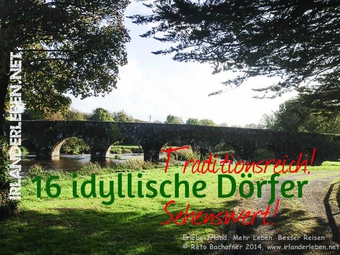 16 Dörfer in Südirland – Traditionsreich, idyllisch und Sehenswert!