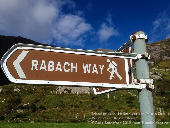 Der Rabach Way ist ein 4km langer Rundweg im Shronebirrane Valley