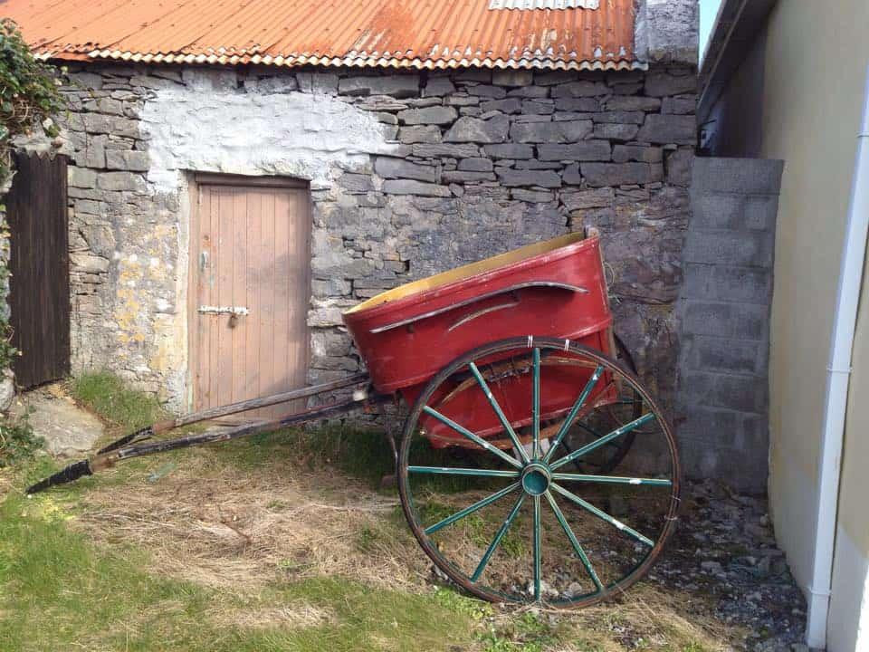 Pferdewagen auf Inishmore