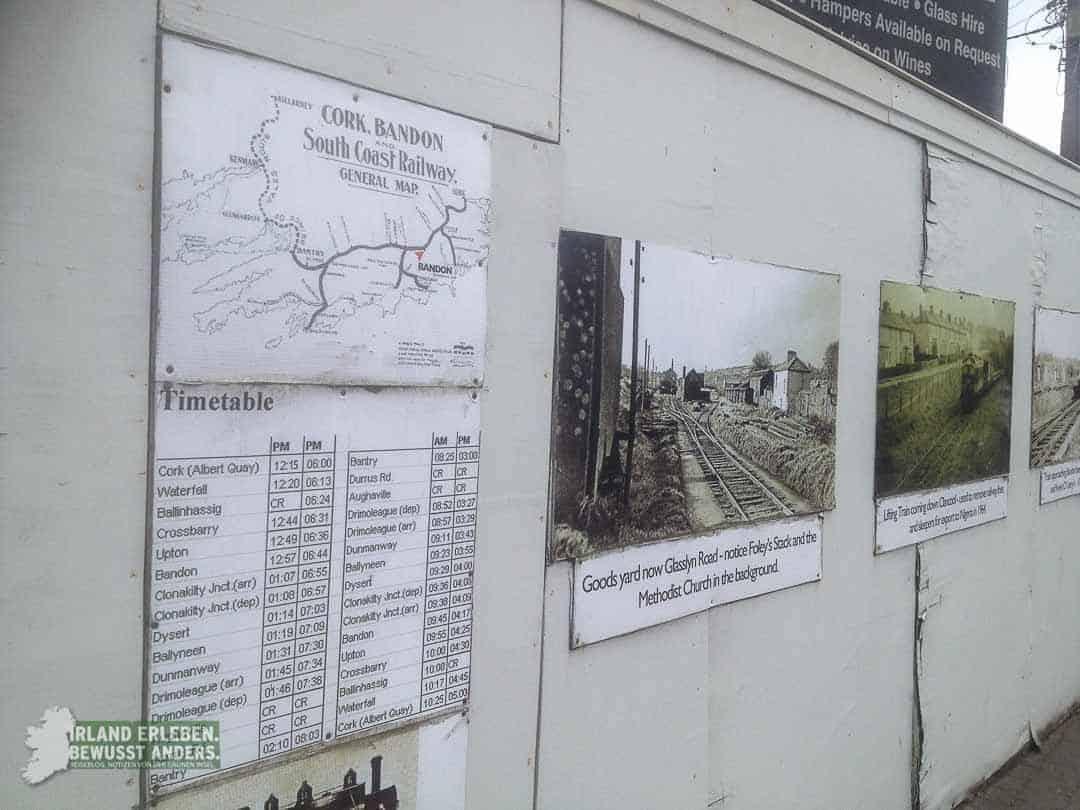 Eisenbahn in Irland früher