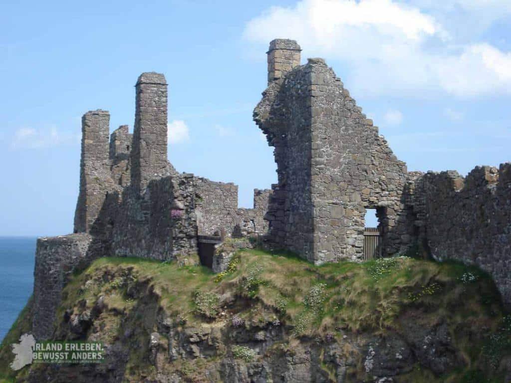 Burgruine in Nordirland