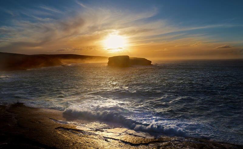 Kilkee Cliffs die wahren Cliffs of Dooneen?