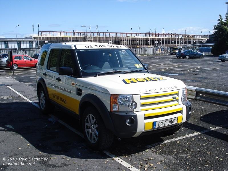 mietwagen irland hertz