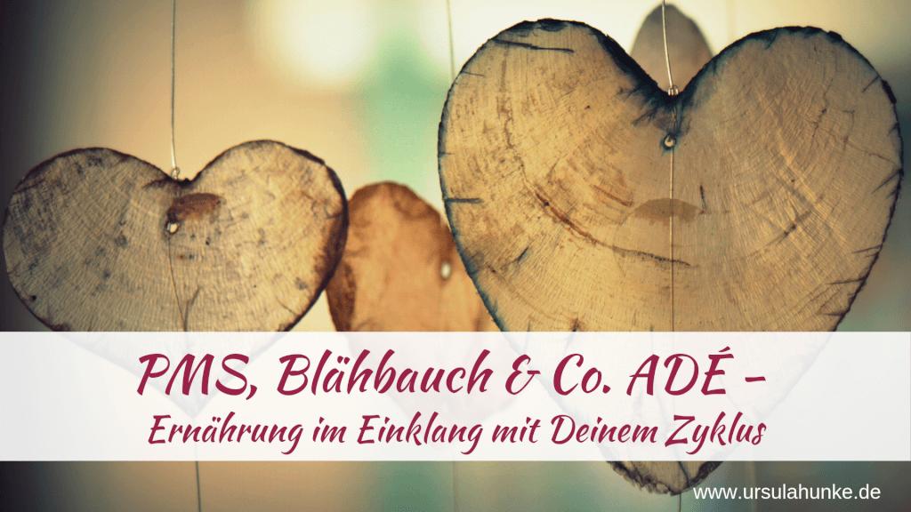 PMS, Blähbauch & Co. ADÉ - Ernährung im Einklang mit Deinem Zyklus