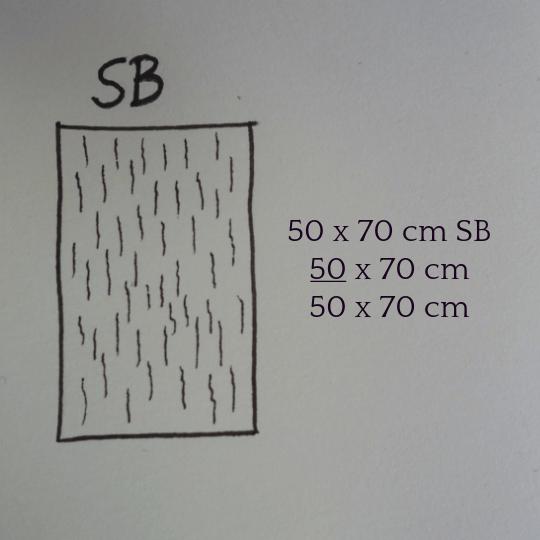 Laufrichtung Schmalbahn