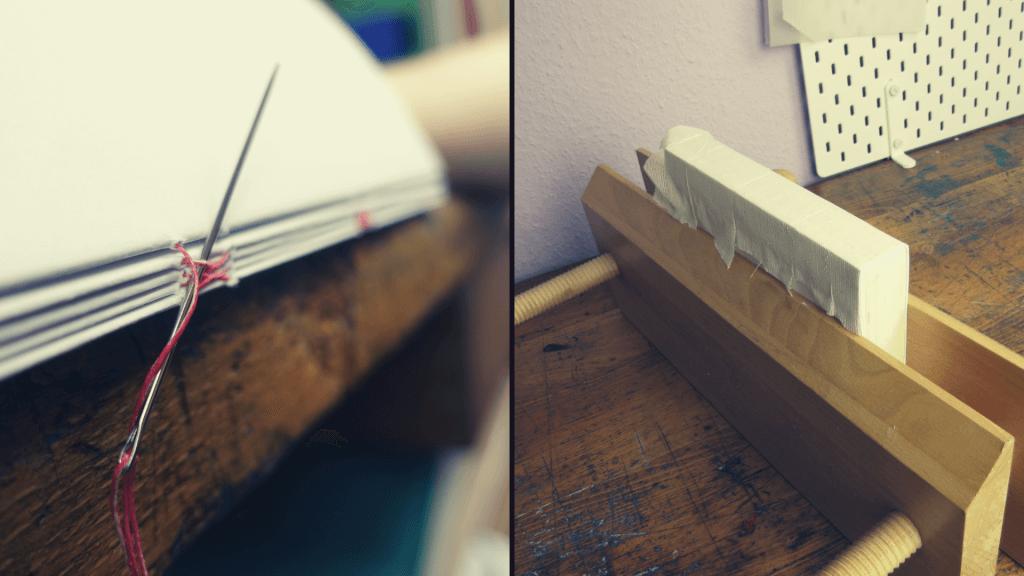 Fadenheftung vs. Klebebindung