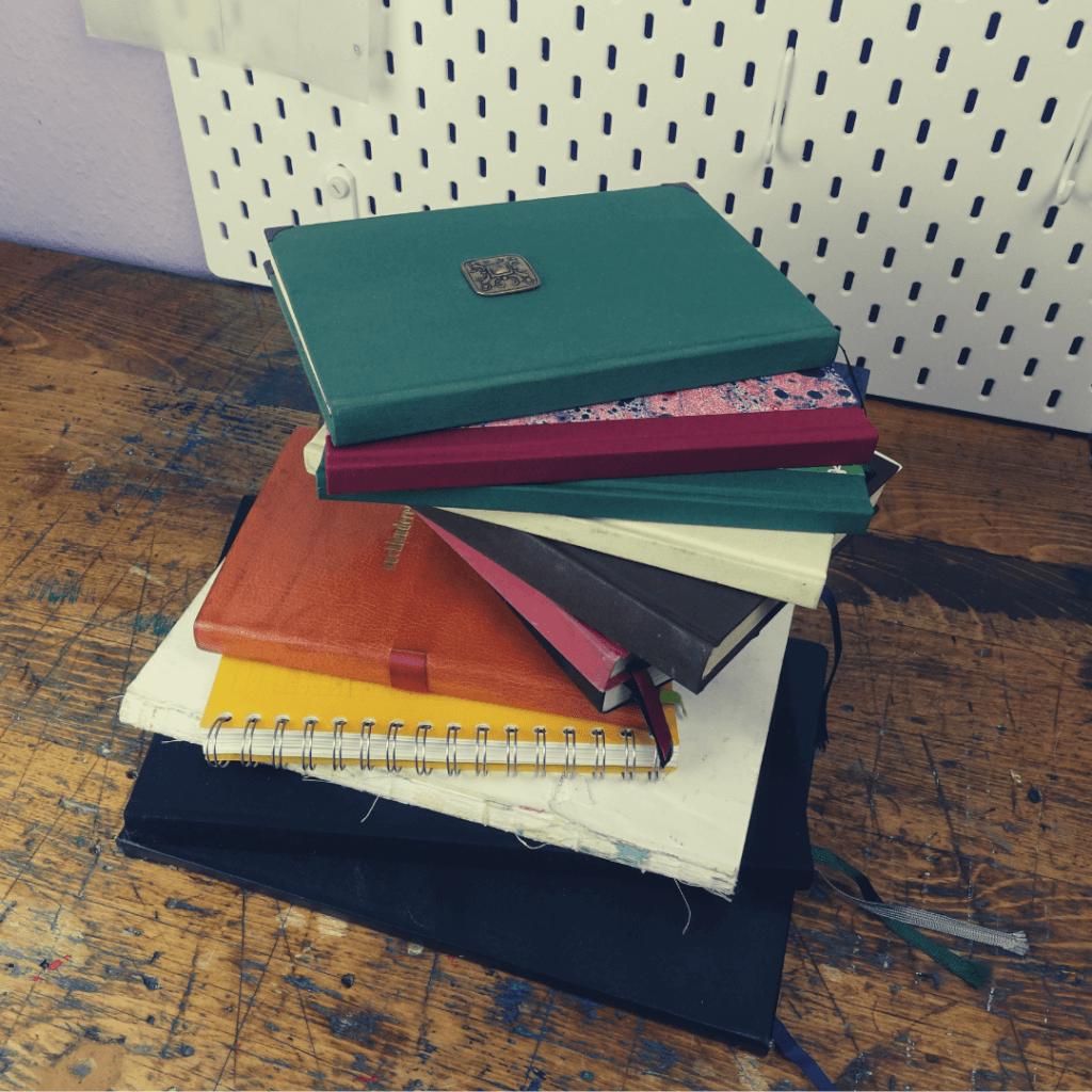 Notizbuch binden