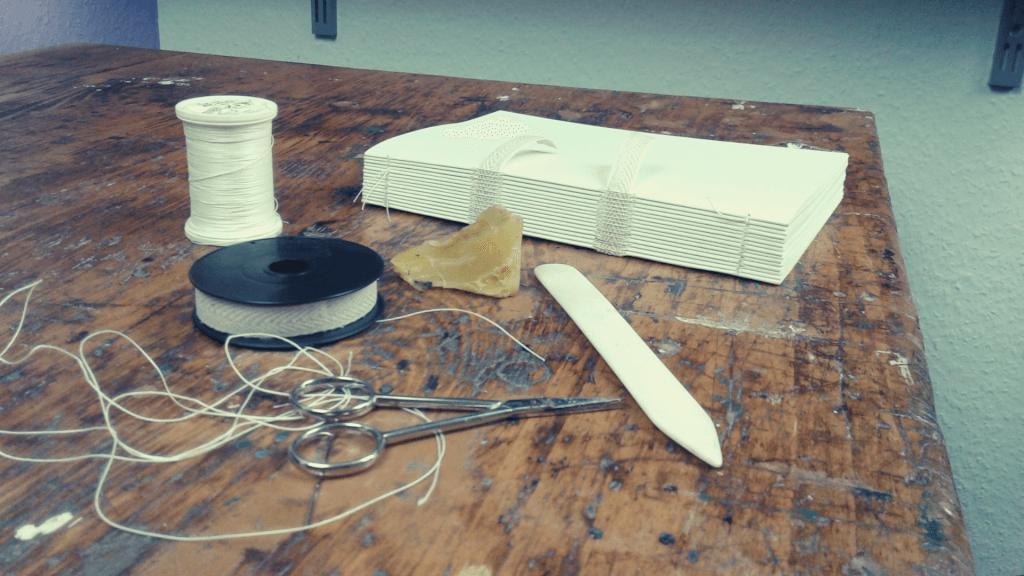 Fadenbindung - Sieben Arten der alten Heftkünste