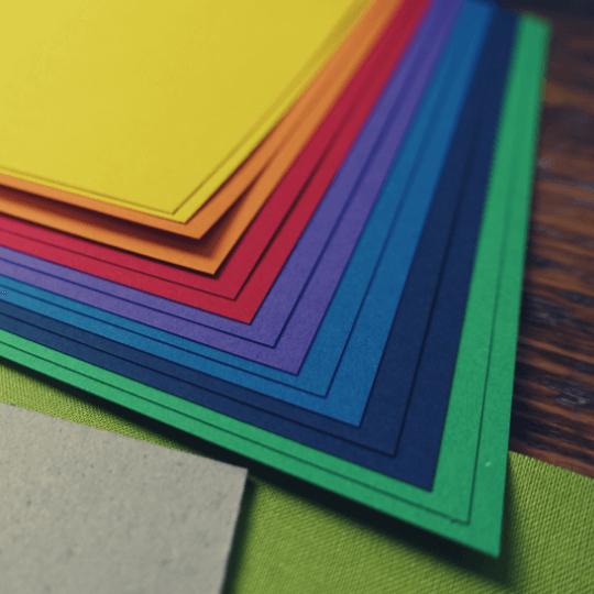 Buchbinden Material 1