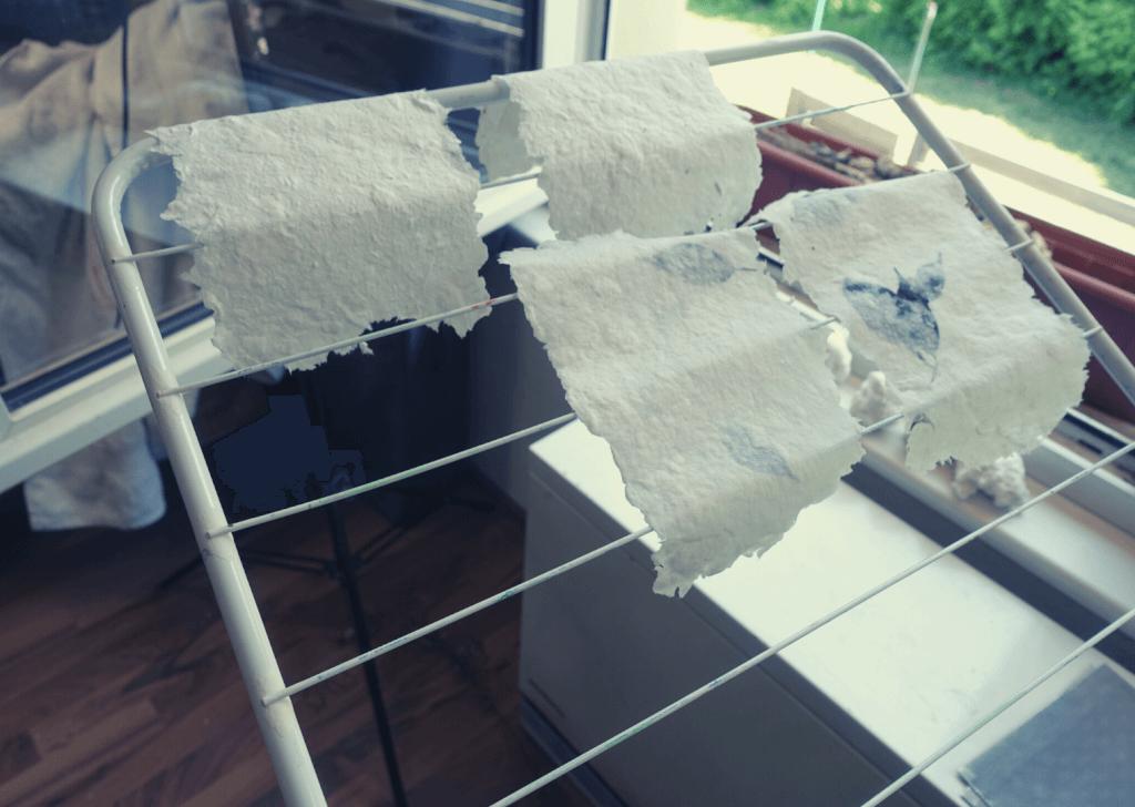 Papier schoepfen Anleitung 11