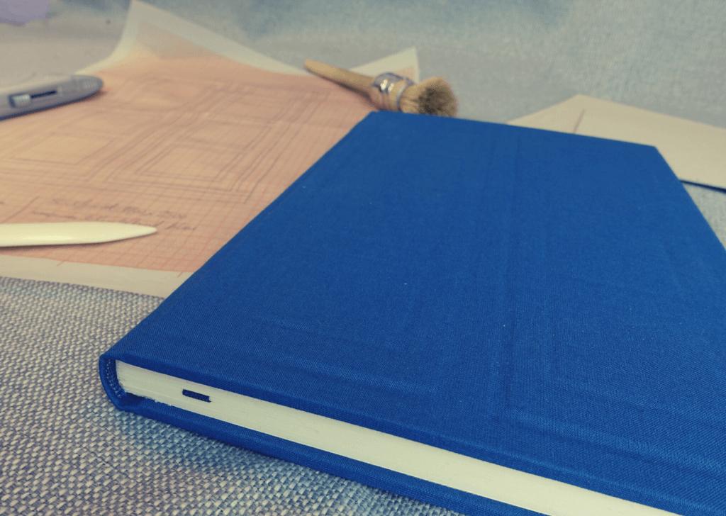 Buchbinde-Projekt: Das River-Song-Tagebuch