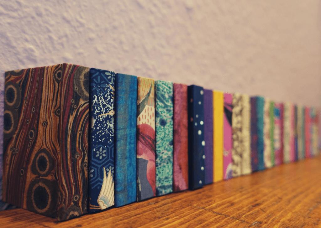 Buchbinden-Projekt: 365 Minibücher