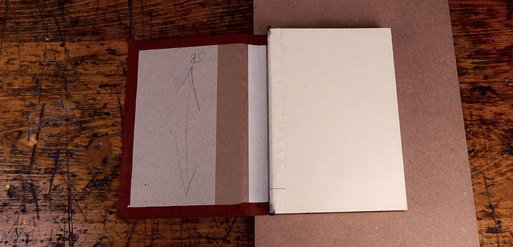 BB Buchblock einhaengen 1