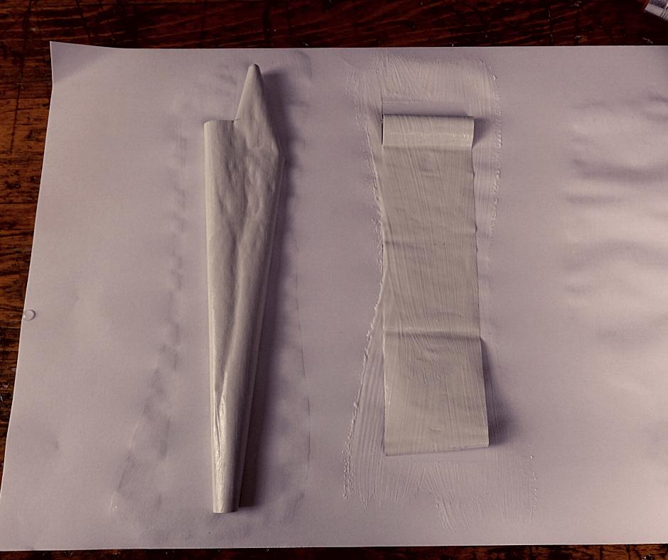 Schneckelndes Papier
