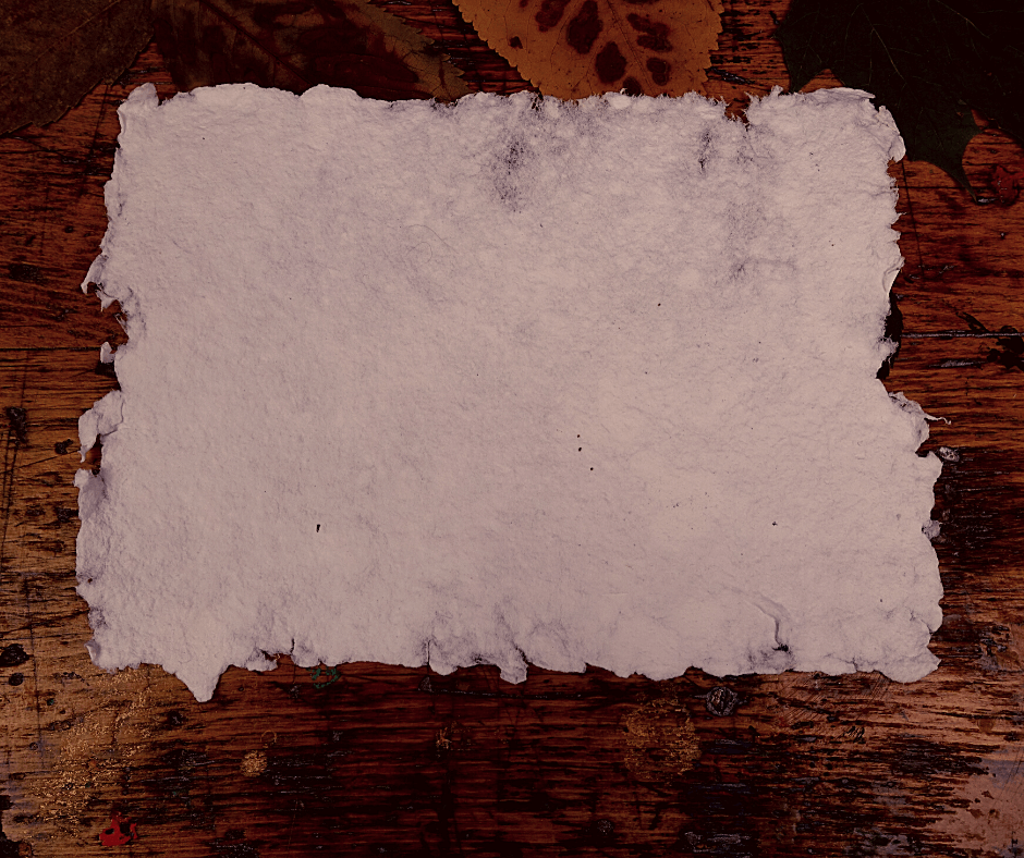 handgeschoepftes Papier