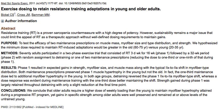 studie muskelaufbau trainingsvolumen intensitaet