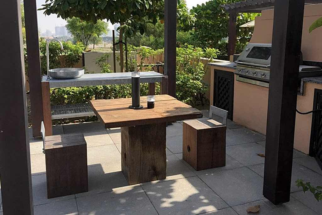 tisch idun thors design terrasse