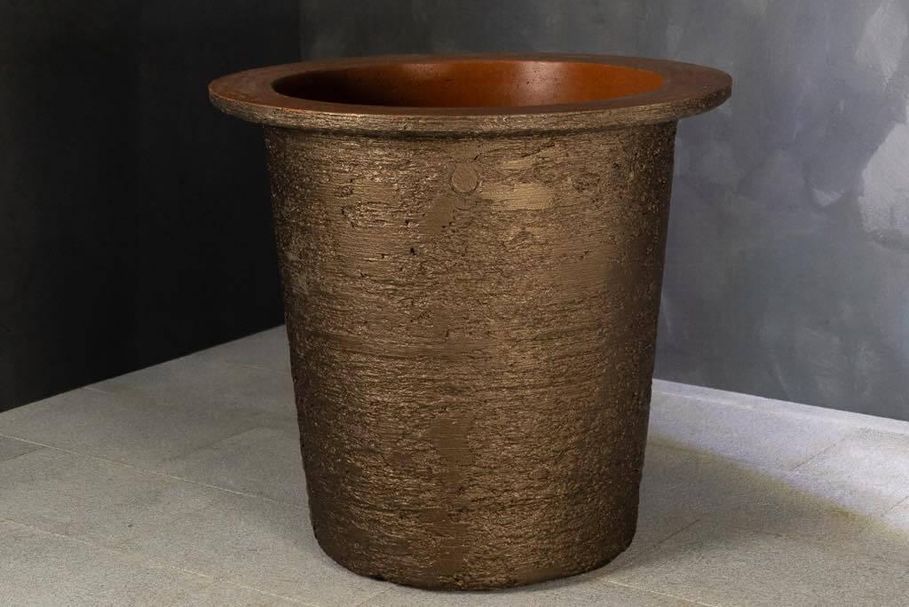 arlo bronze pflanzkuebel torcpots