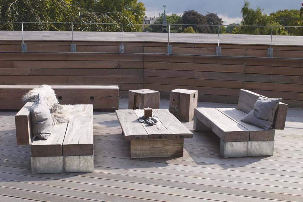loungesitzbank thors design slinger mit rueckenlehne