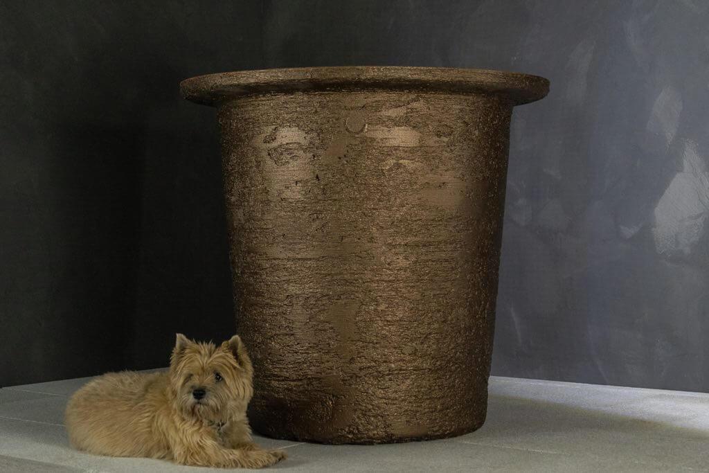 pflanzgefaess torcpots arlo bronze