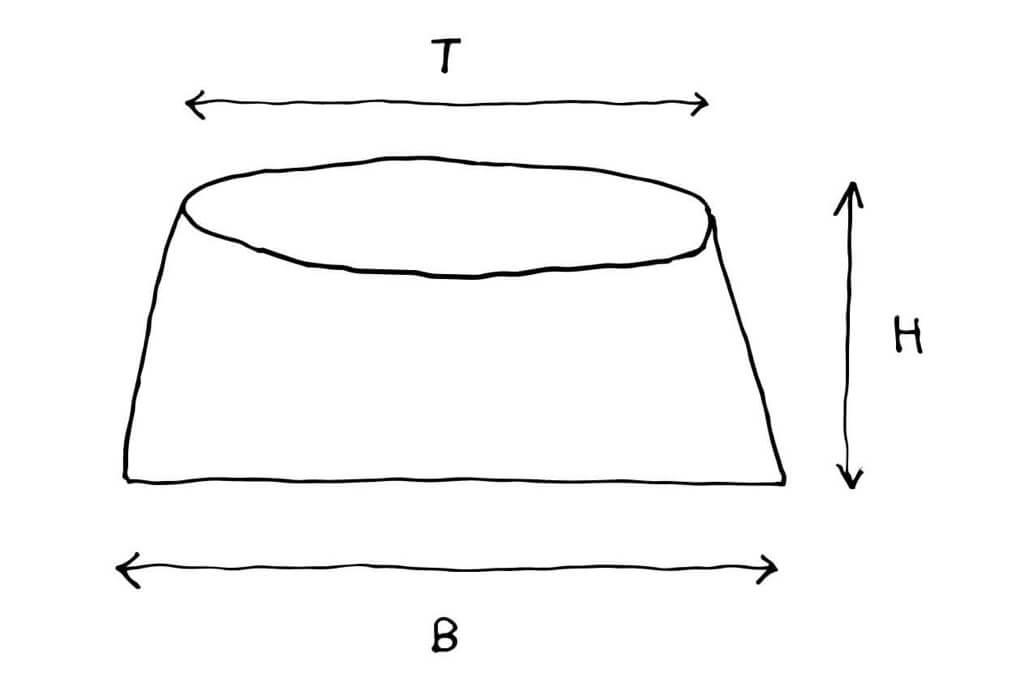 skizze pflanzgefaess flach