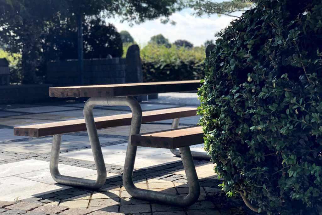 thors design sitzbank tisch kombination omega