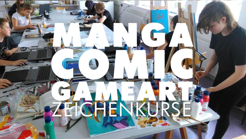 manga comic gameart zeichenkurse rostock maxim simonenko