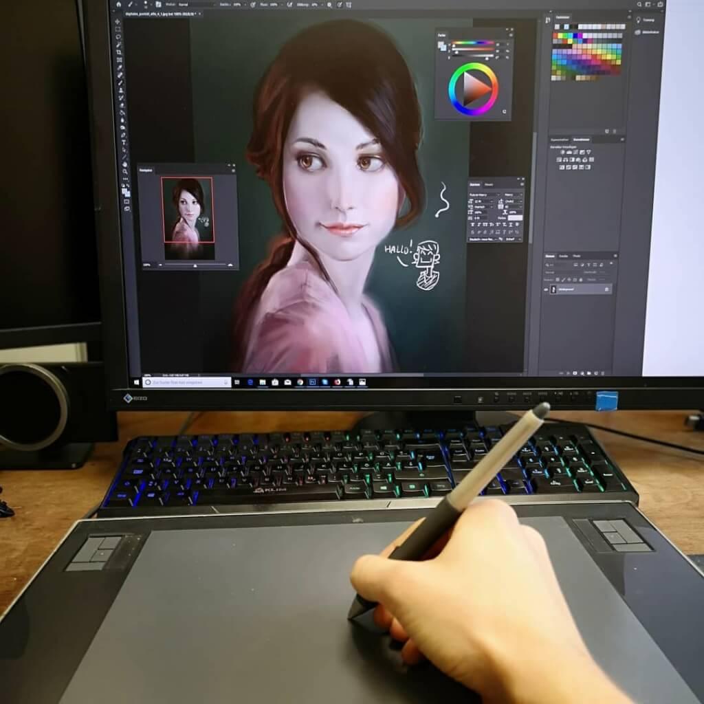 manga zeichnen lernen online digital maxim simonenko