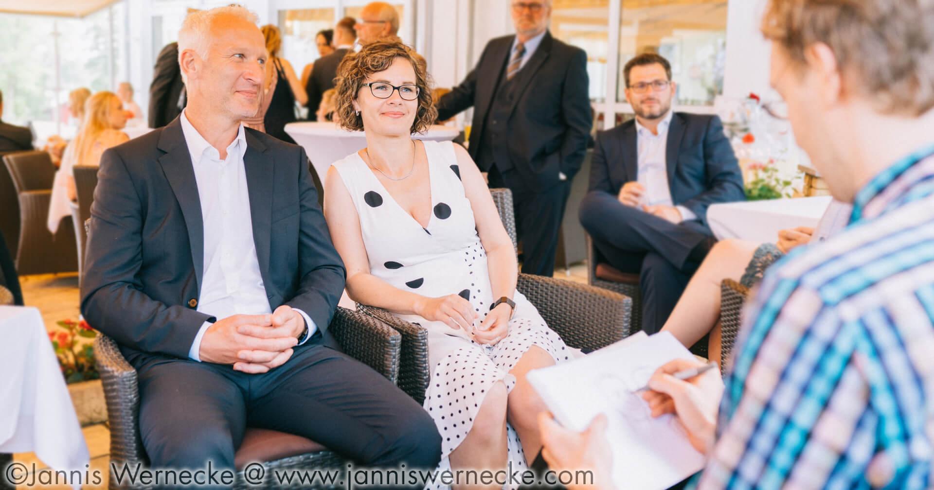 Maximko´s Eventzeichnen: Hotel Seerose auf Insel Usedom
