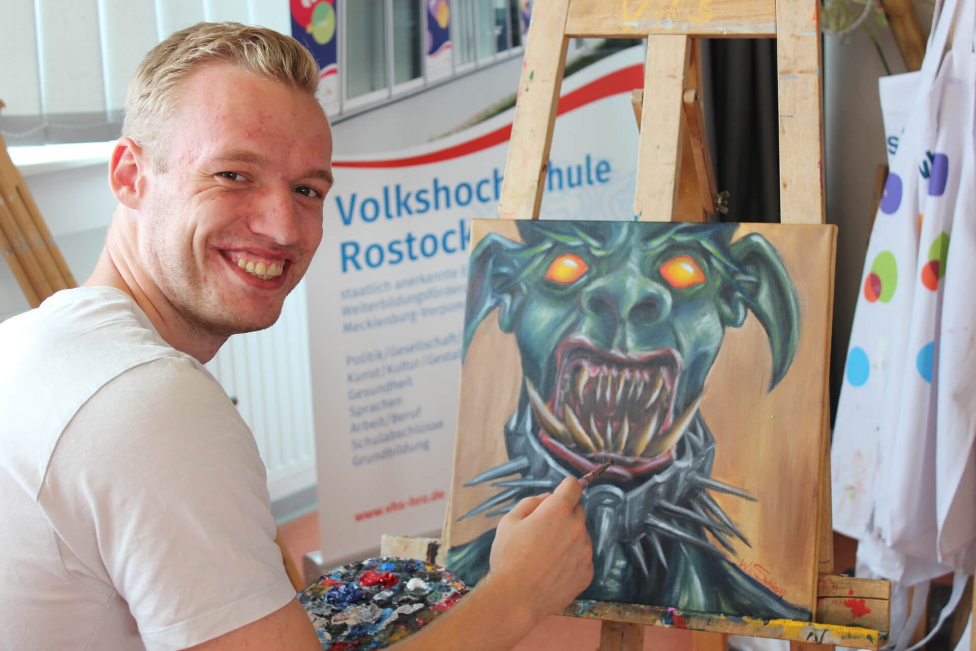 zeichenfest workshop willi schlese monster zeichnen