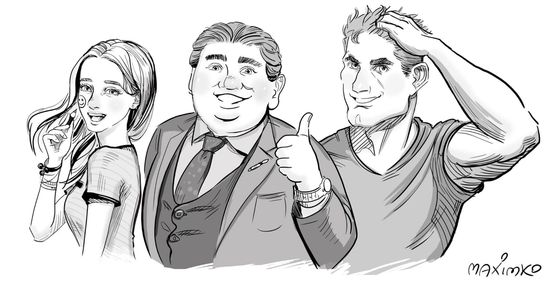 Manga-Zeichnen: 4 fundamentale Tipps für interessante Gesichter, die Bände sprechen!