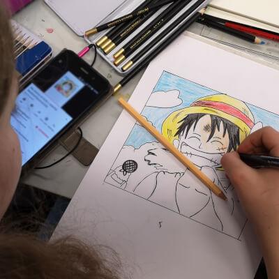 manga zeichnen lernen online ruffy one piece