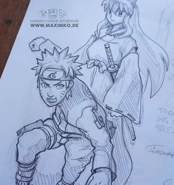manga zeichnen  lernen digital maxim simonenko