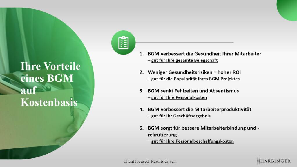 BGM Beratung Beratungsunternehmen systemische beratung bgm 2020 vorteile kosten fehlzeiten absentismus consulting
