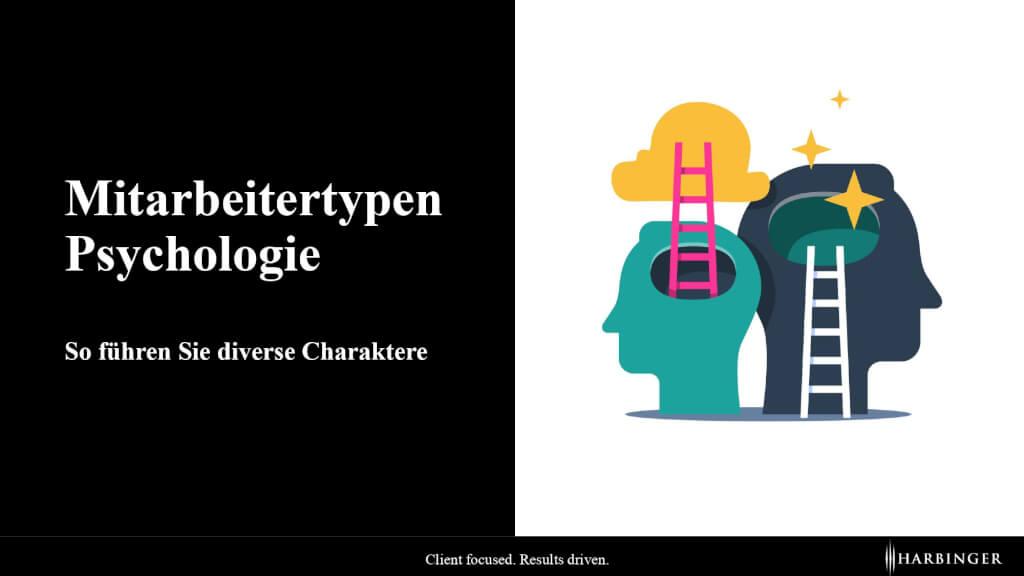 Mitarbeitertypen Psychologie: So führen Sie diverse Charaktere