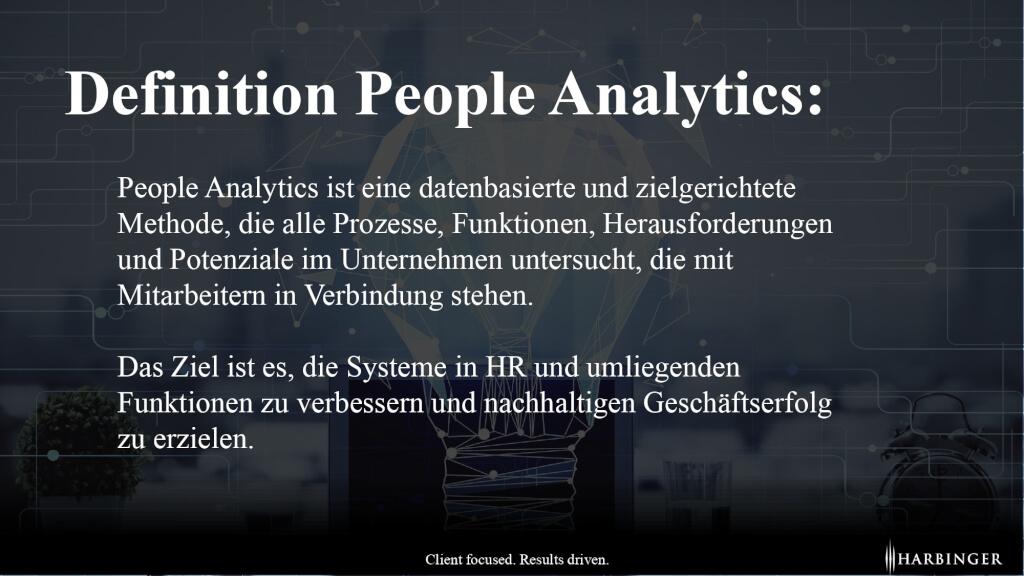 Definition People Analytics HR Analytics Vorteile Benefits was ist people analytics page 0001