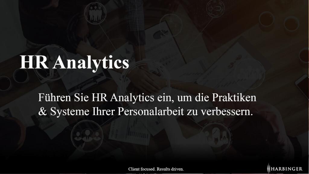 Unterschied Definition was ist HR Analytics Nutzen HR Controlling strategisches Personalmanagement page 0001