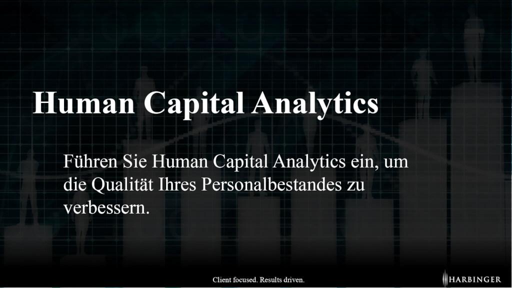 Unterschied Definition was ist Human capital Analytics Humankapitalanalyse Nutzen HR Controlling strategisches Personalmanagement page 0001