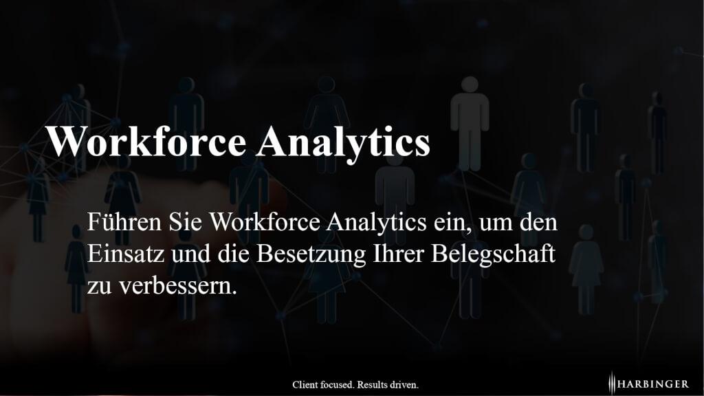 Unterschied Definition was ist Workforce Analytics Nutzen HR Controlling strategisches Personalmanagement page 0001