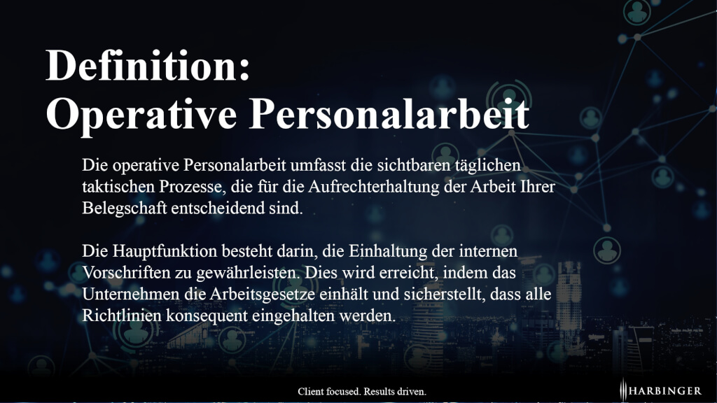 Was ist operative Personalarbeit Definition  page 0001