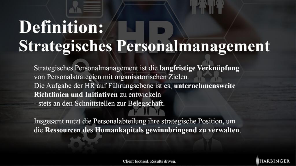 Was ist Strategisches Personalmanagement Definition einfach erklaert page 0001