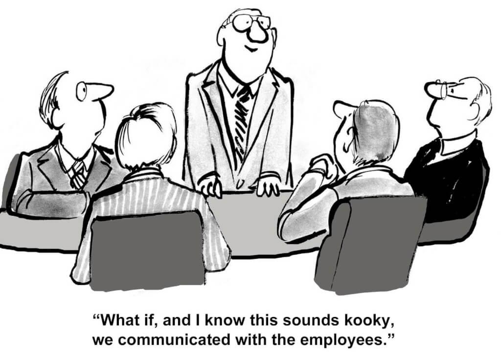 kommunikation arbeitgeber arbeitnehmer lustig witzig zitate bild mitarbeiterkommunikation schlechte kommunikation